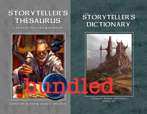 Bundle: Storyteller's Thesaurus and Dictionary -- Print