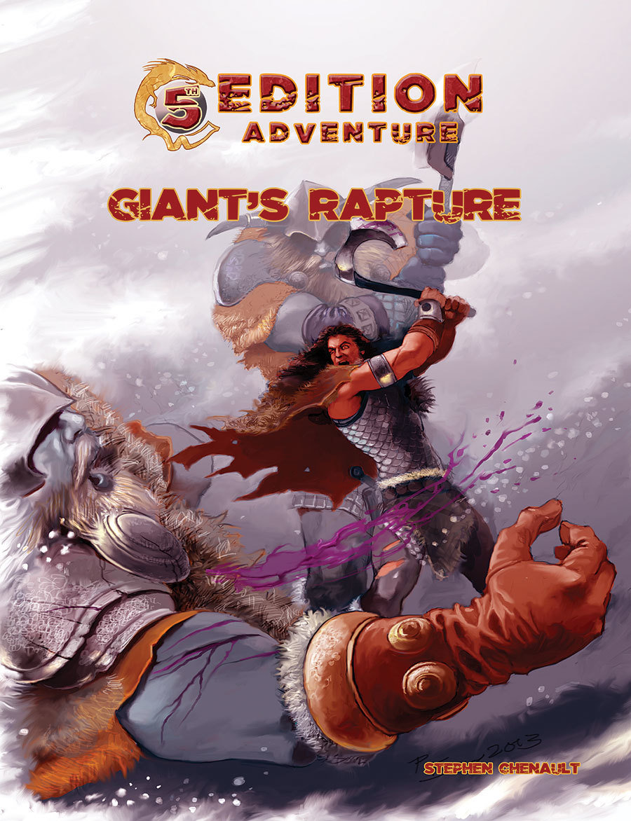 5th Edition: Giant's Rapture -- Digital