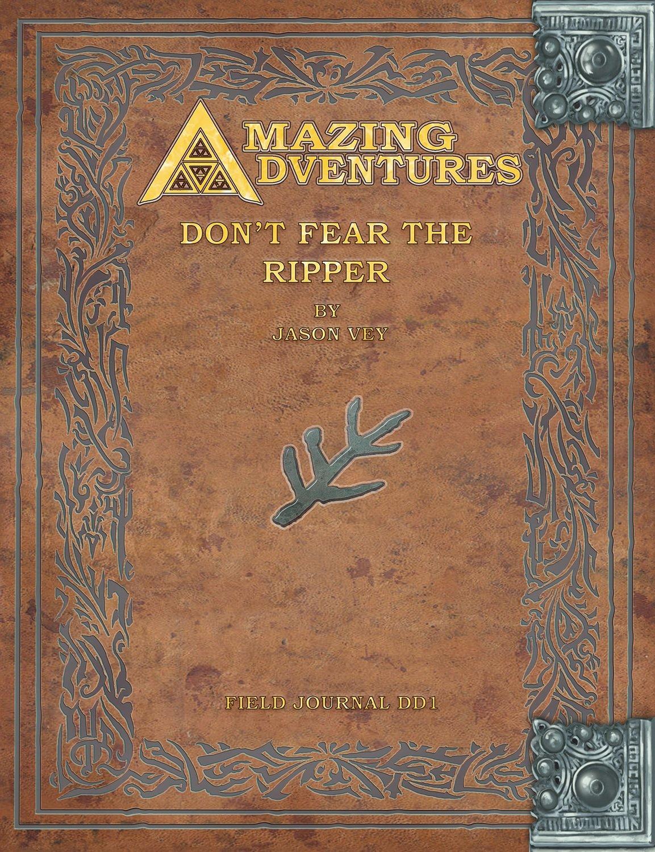 Amazing Adventures -- Don't Fear The Ripper Deeper Dark Trilogy Vol. 1 Digital