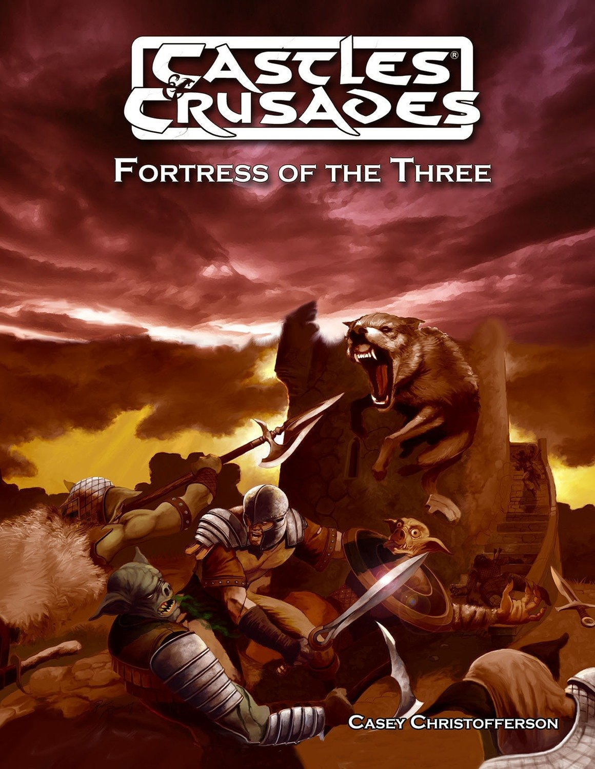 Castles & Crusades DB10 Fortress of The Three