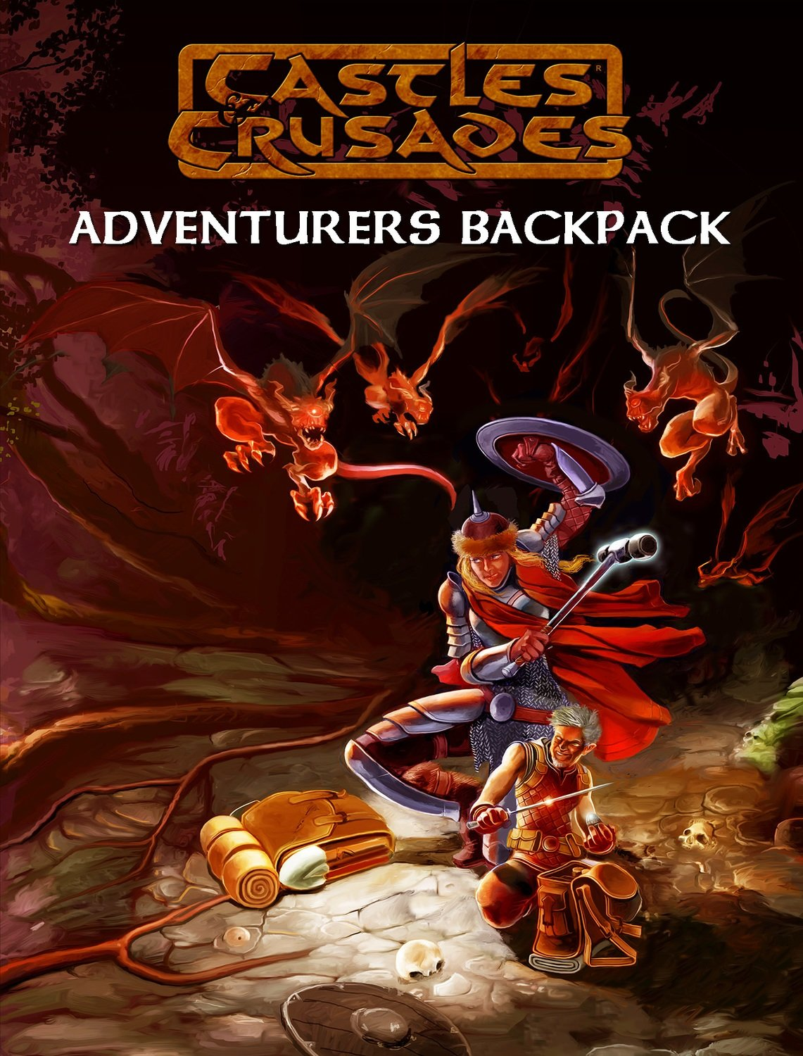 Castles & Crusades Adventurers Backpack Digital