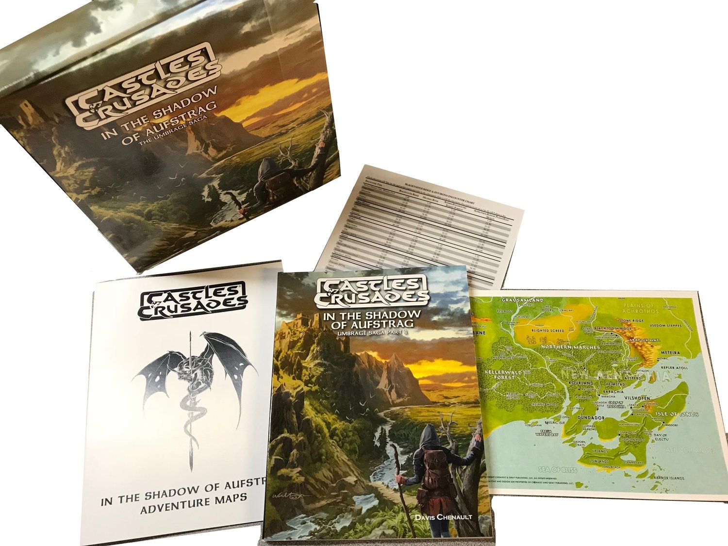 Castles & Crusades: A0-A5 In the Shadow of Aufstrag (Boxed Set)