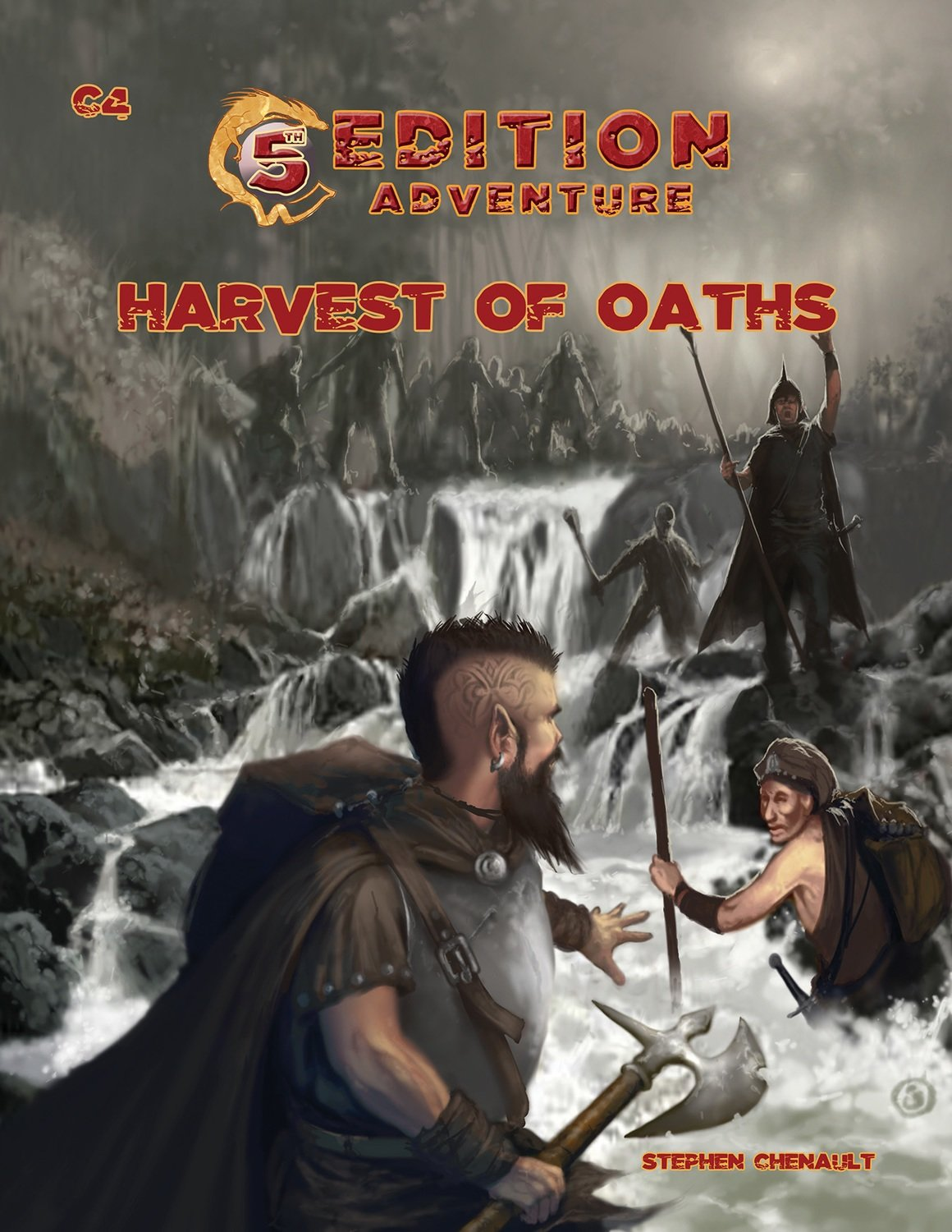 5th Edition Adventures: C4 Harvest of Oaths -- Digital