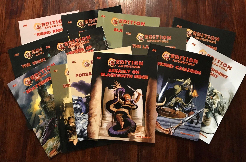 Bundle: 5th Edition Adventure A0 - A12