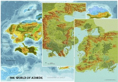 Codex of Aihrde Map Pack Digital