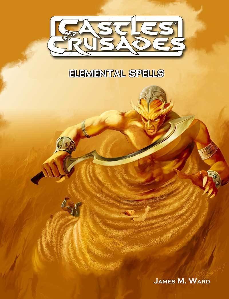 Castles & Crusades Elemental Spells Digital