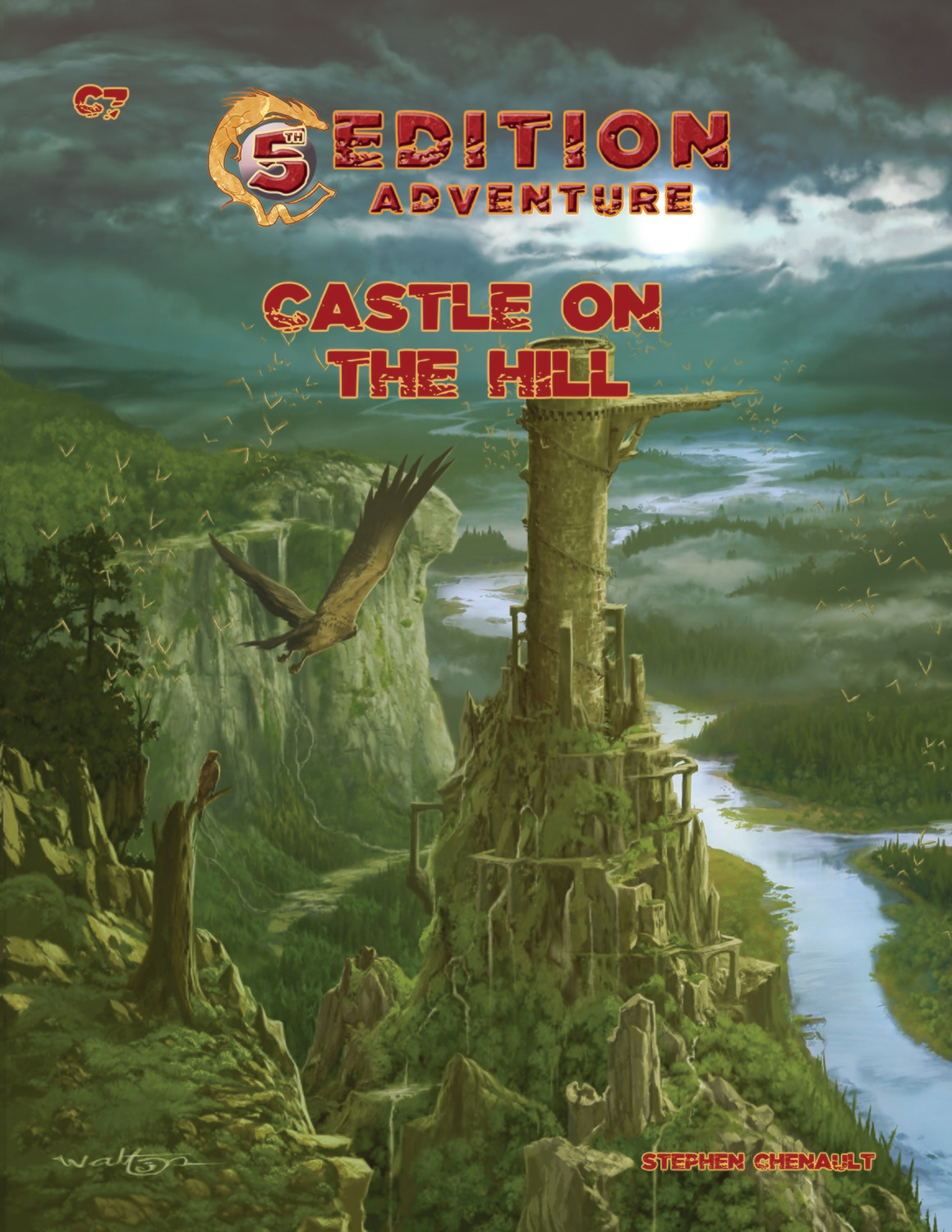5th Edition: C7 Castle on the Hill -- Digital