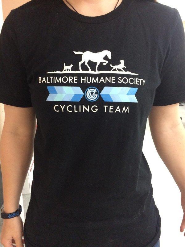 Baltimore Humane Society Good Velo Bike Club T-Shirt
