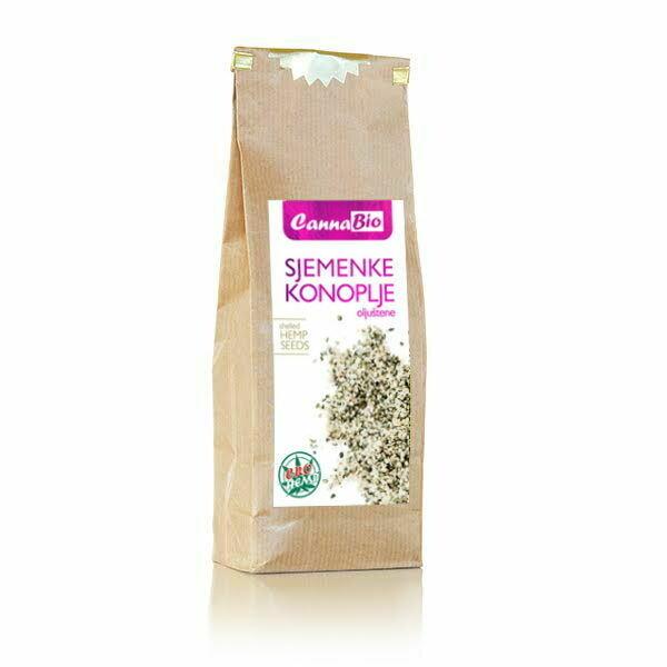 Sjemenke konoplje (oljuštene) 250 g