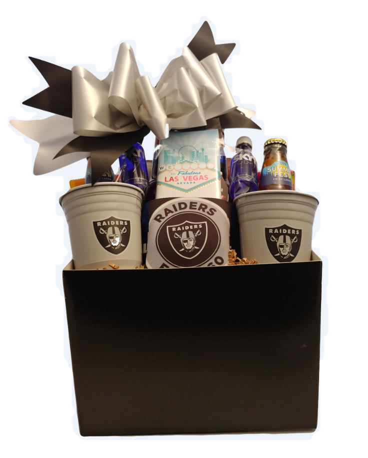 Raiders Gift Basket