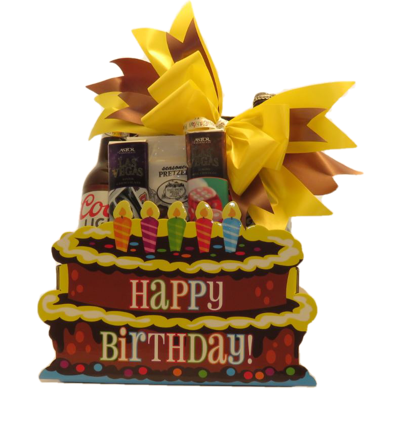 Birthday Beer Gift Basket