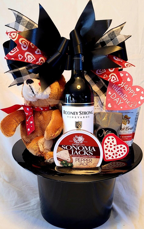 Valentine's Day 9 Top Hat