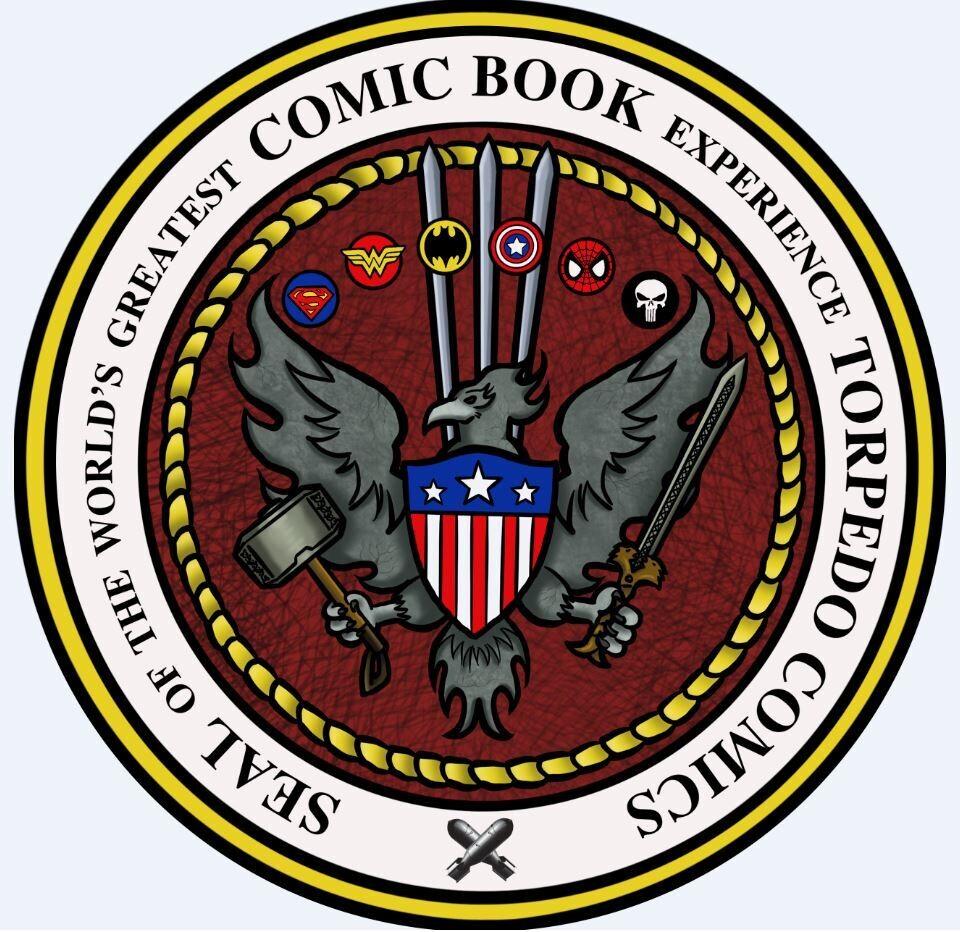 Torpedo Comics JUST GOURMET GIFT BASKET