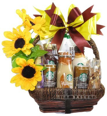 Starbucks Coffee Snack Gift Basket for Two