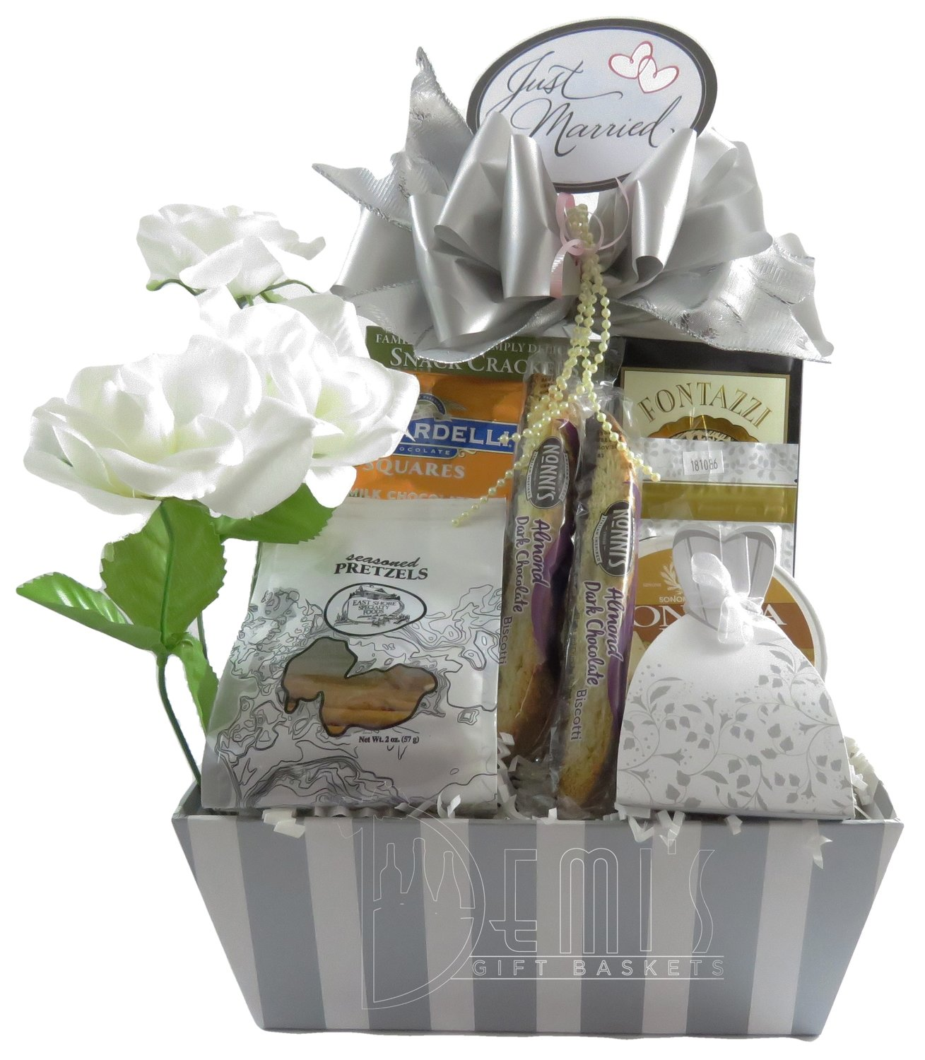 Gourmet Wedding Basket