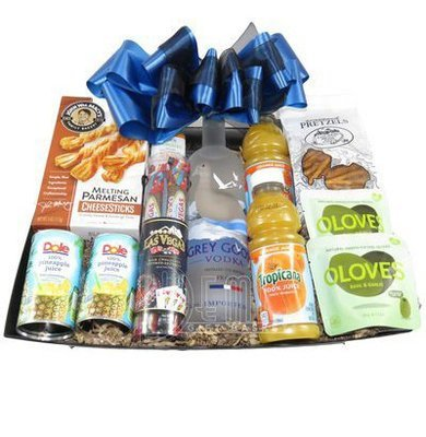 Grey Goose Gift Basket (Large)