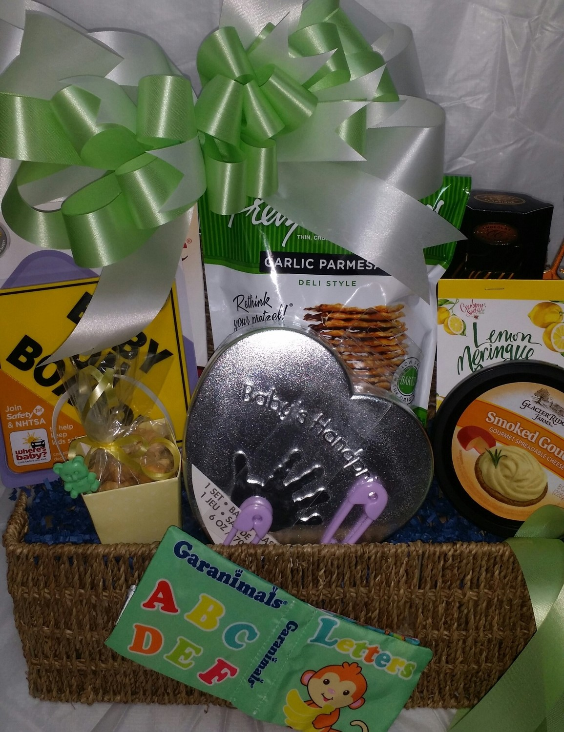 Small Baby Gift Basket