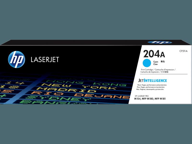HP 204A 青色原廠 LaserJet 碳粉 CF511A