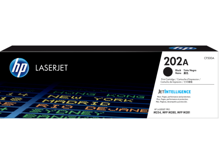 HP 202A 黑色原廠 LaserJet 碳粉 CF500A
