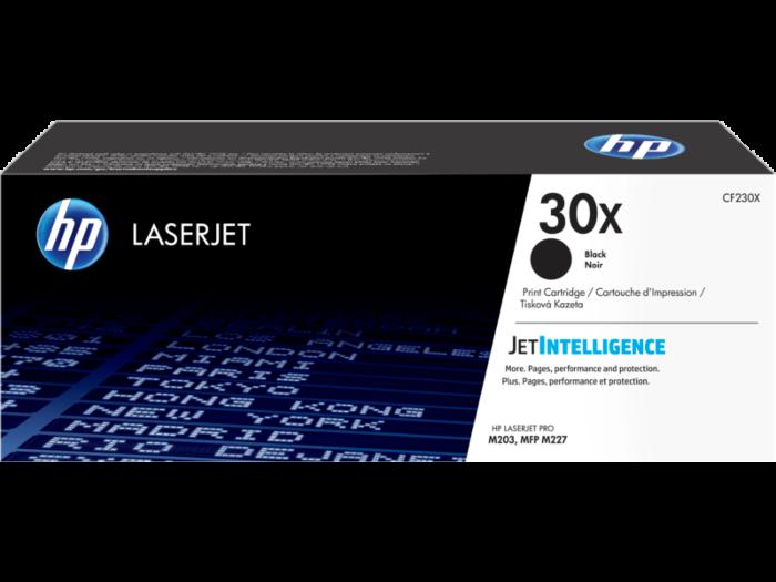 HP 30X 高打印量黑色原廠 LaserJet 碳粉 CF230X