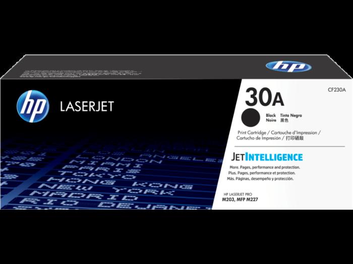 HP 30A 黑色原廠 LaserJet 碳粉 CF230A