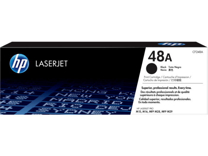 HP 48A Black Original LaserJet Toner Cartridge CF248A