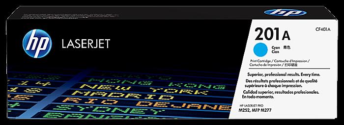 HP 201A 青色原廠 LaserJet 碳粉 CF401A