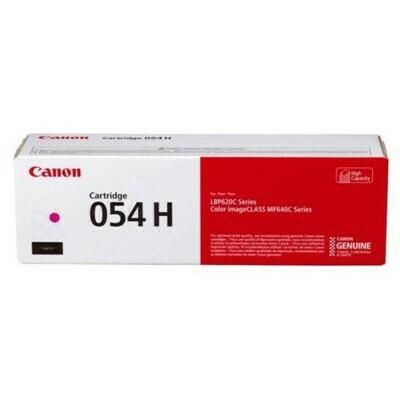 Canon Cartridge 054H M 高打印量洋紅色原裝打印機碳粉盒 CRG054HM