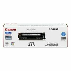 Canon Cartridge 418 C 青色原裝打印機碳粉盒 CRG418C