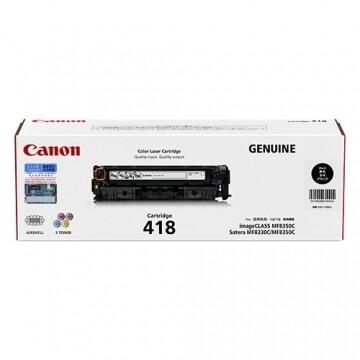 Canon Cartridge 418 BK 黑色原裝打印機碳粉盒 CRG418BK