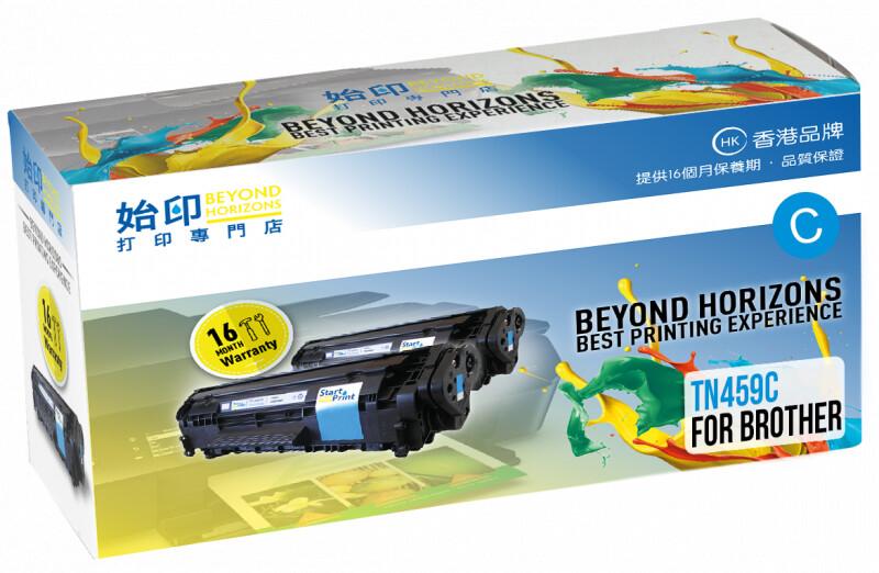 StartPrint Brother TN459 極高打印量藍色 優質代用碳粉匣 TN459C