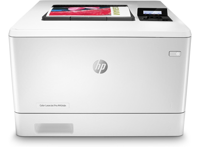 HP Color LaserJet Pro M454dn 彩色鐳射打印機