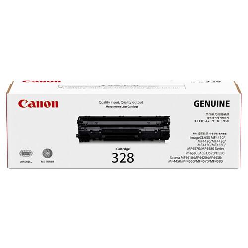 Canon Cartridge 328 黑色原裝打印機碳粉盒 CRG328