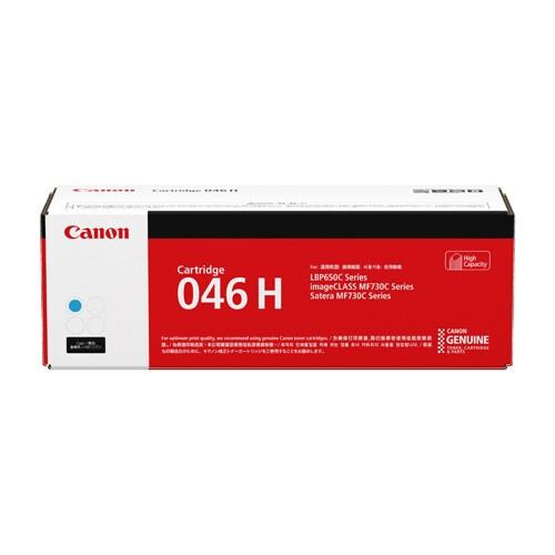 Canon Cartridge 046H C 高打印量靛藍色原裝打印機碳粉盒 CRG046HC