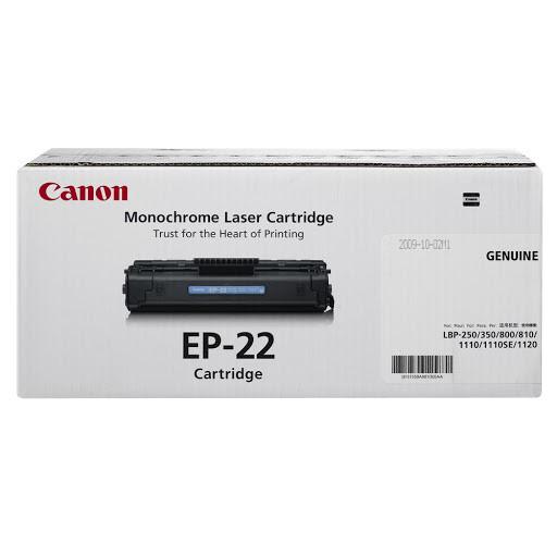 Canon Cartridge EP-22 黑色原裝打印機碳粉盒 EP-22