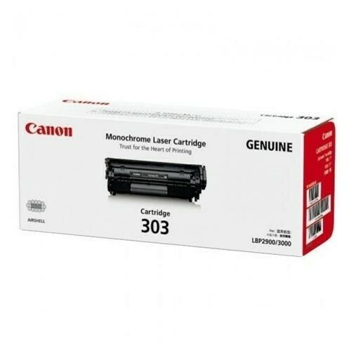 Canon Cartridge CRG303 黑色原裝打印機碳粉盒 CRG303