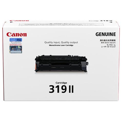 Canon Cartridge 319II 黑色原裝高容量打印機碳粉盒 CRG319II