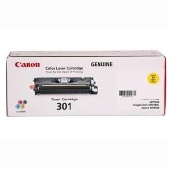 Canon Cartridge 301Y 黃色原裝打印機碳粉盒 CRG301Y