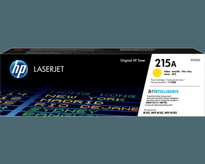 HP 215A 黃色原廠 LaserJet 碳粉 W2312A