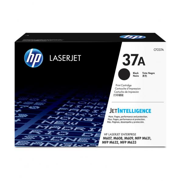 HP 37A 高打印量黑色原廠 LaserJet 碳粉 CF237A