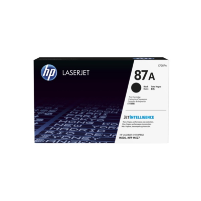 HP 87A 黑色原廠 LaserJet 碳粉 CF287A