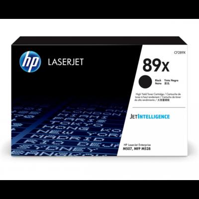 HP 89X 黑色原廠 LaserJet 碳粉 CF289X