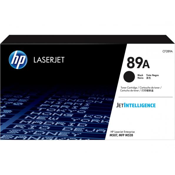 HP 89A 黑色原廠 LaserJet 碳粉 CF289A