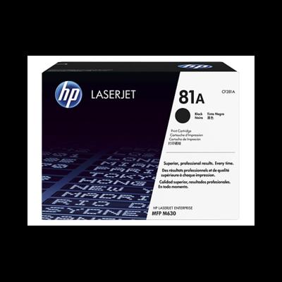 HP 81A 黑色原廠 LaserJet 碳粉 CF281A