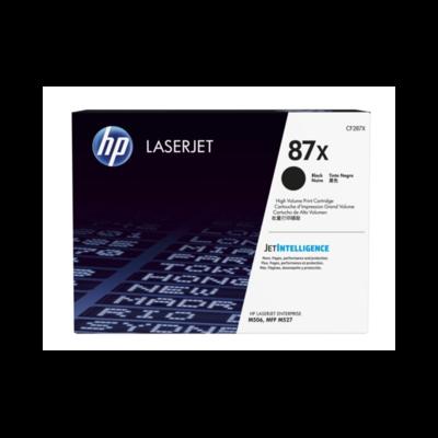 HP 87X 黑色原廠 LaserJet 碳粉 CF287X