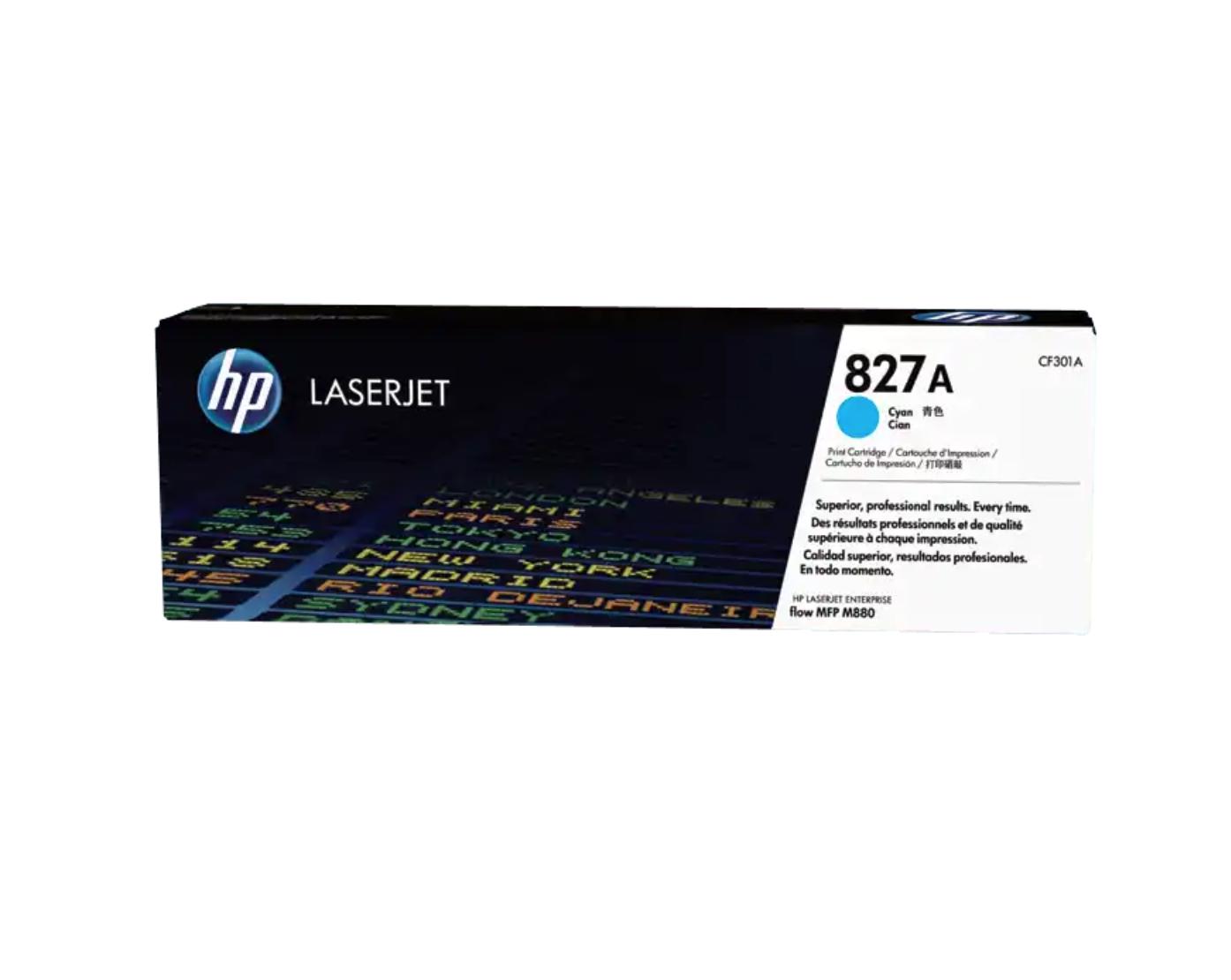 HP 827A 綻藍原廠 LaserJet 碳粉 CF301A
