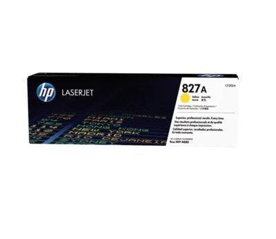 HP 827A 黃色原廠 LaserJet 碳粉 CF302A