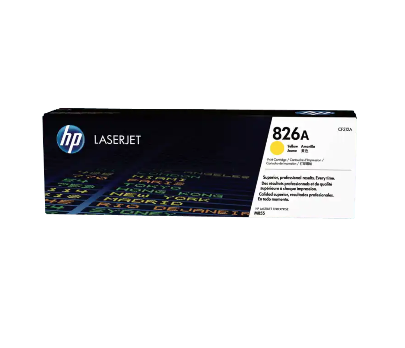 HP 826A 黃色原廠 LaserJet 碳粉 CF312A