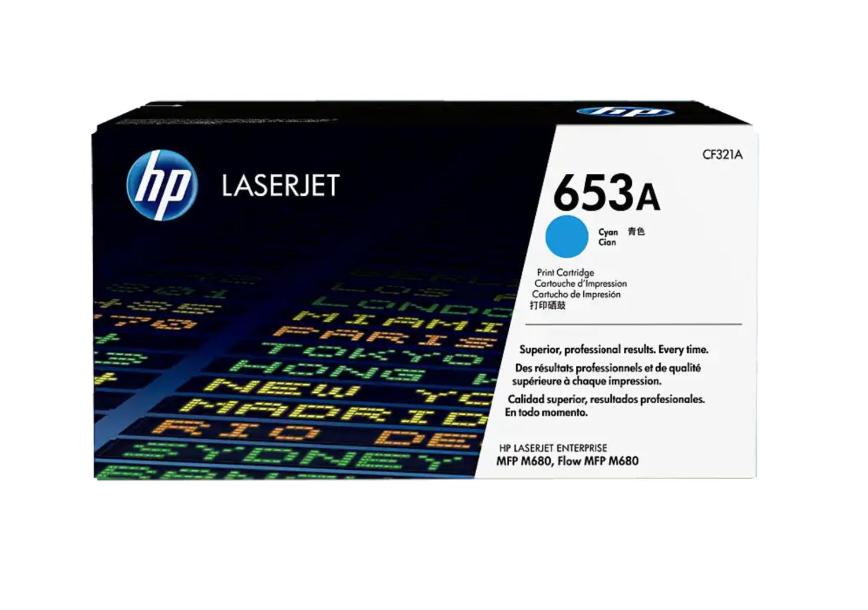 HP 653A 綻藍原廠 LaserJet 碳粉 CF321A