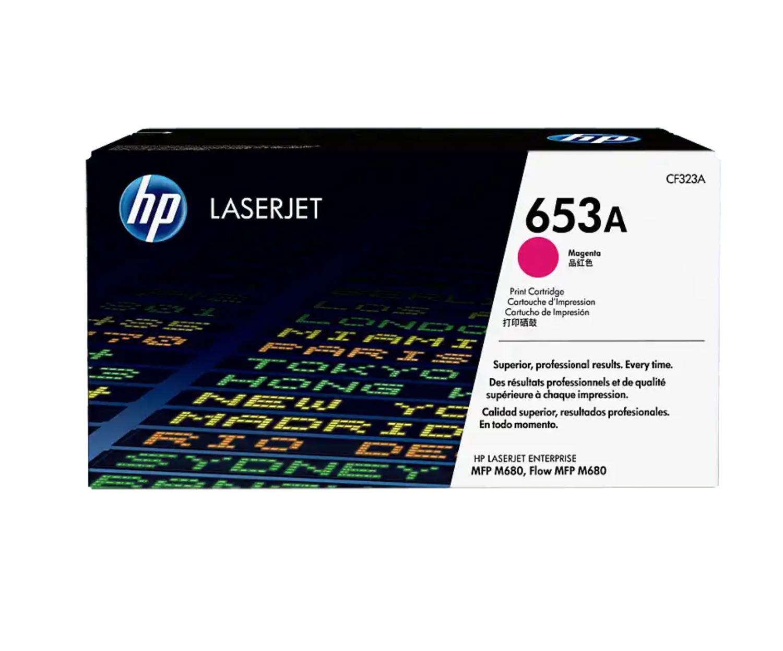 HP 653A 洋紅原廠 LaserJet 碳粉 CF323A